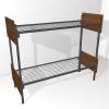 Металлические двухъярусные кровати для общежитий,  дешево опт.